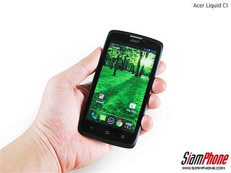 Handphone Acer Liquid C1 sihone ร ว วโทรศ พท ม อถ อ acer liquid c1 review