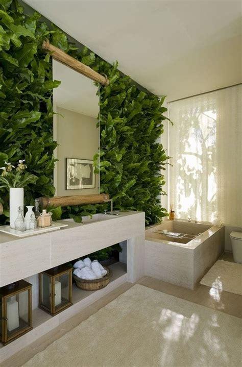 banos en color verde una buena opcion plantas en el