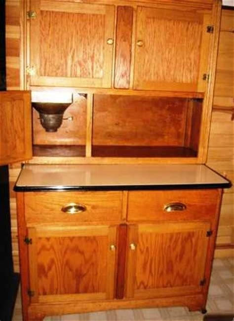 antique hoosier cabinets