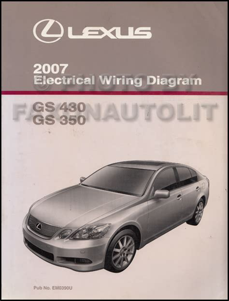 free car manuals to download 2007 lexus gs spare parts catalogs 2007 lexus gs 430 350 wiring diagram manual original