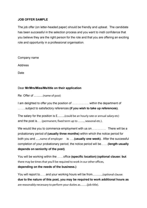 job offer counter proposal letter sample new representation addition