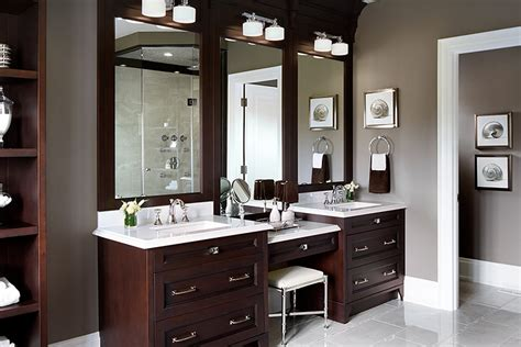 Bathroom Make Up Vanity Drop Makeup Vanity Traditional Bathroom Lockhart Interior Design
