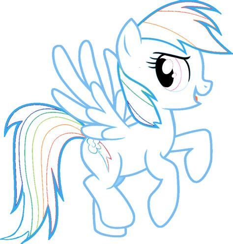my little pony coloring pages of rainbow dash free coloring pages of rainbow dash pinkie pie