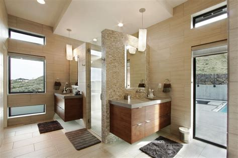 badgers bathrooms contemporary richland villa delivers spectacular views of