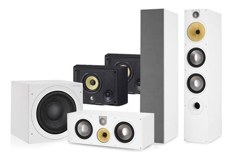 bowers wilkins 683 s2 ds 5 1 home theatre speaker system