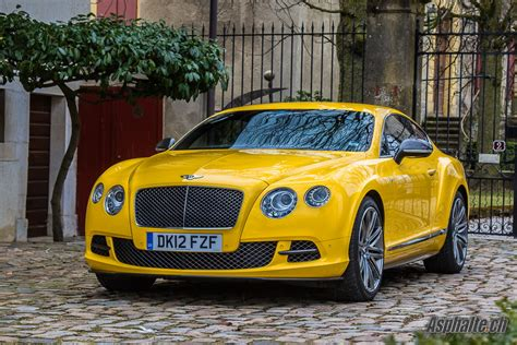 bentley yellow road test bentley continental gt speed auto