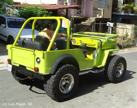 Jeep Cj4 Green Willys Cj4 Rear By Mister Lou On Deviantart