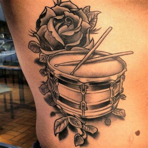 marching band tattoo musical meanings custom design