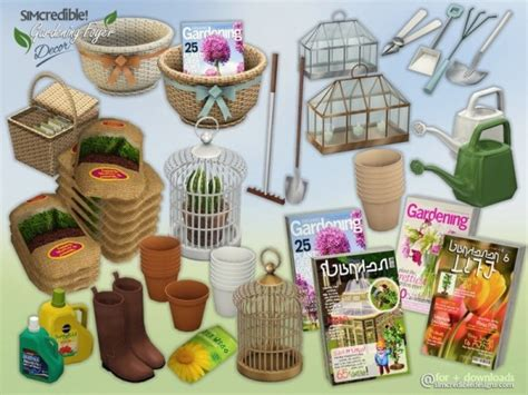 sims 4 foyer the sims resource gardening foyer decor by simcredible