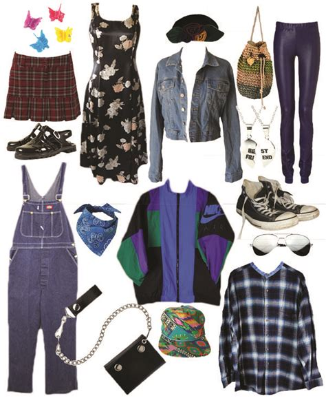 The Best 1990s Fashion Trends..love 90s retro outfits