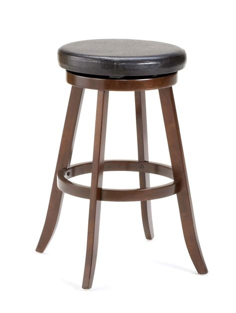 Cherry Stools by Hillsdale Sylvan Swivel Counter Stool Cherry 4665 826