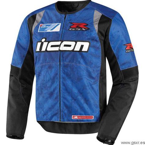 Icon Suzuki Chaqueta De Moto Overlord Textile Gsx R De Icon El