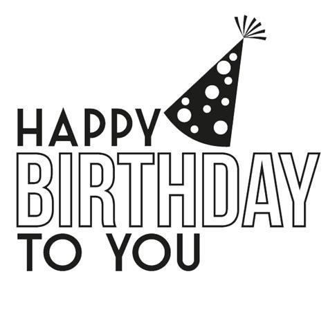 imagenes blanco y negro feliz cumpleaños vinilo decorativo feliz cumplea 241 os paredesoriginales