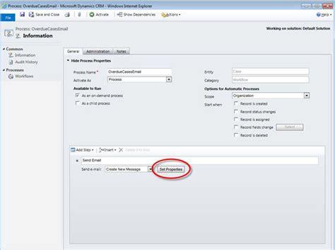 Microsoft Login Uk Sending Emails Via On Demand Workflows Dynamics Crm