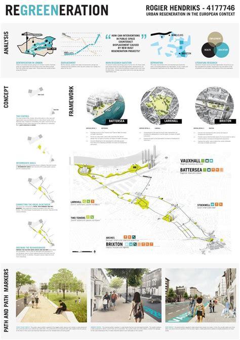 layout and landscape planning theories graduation panels regreeneration urban design brixton