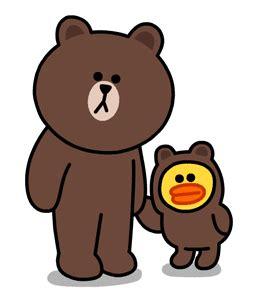 Pen Pulpen Karakter Kartun Line Lucu Brown Dan Cony Spe036 10 gambar brown line lucu gambar top 10