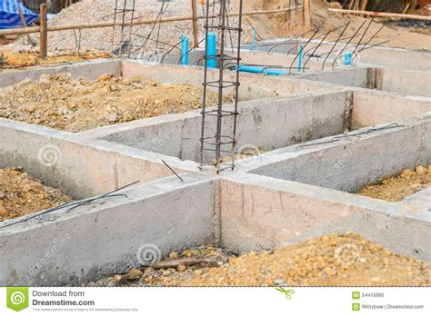 what is the foundation of a house foundation for house building stock photo image 54416990
