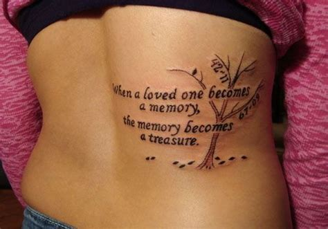 Tattoo Quotes For Remembering Someone | baby tattoos 28 remembering in loving memory tattoos for