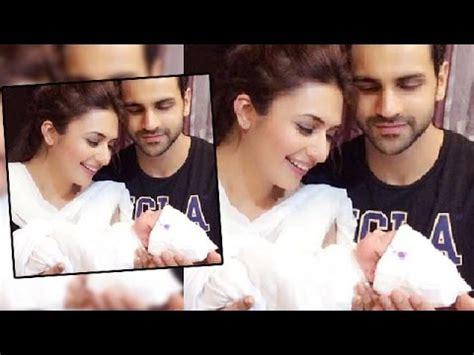 vivek dahiya baby divyanka tripathi vivek dahiya with a cute baby youtube