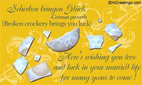 Wedding Congratulations In German by Send Ecards Around The World German Wedding Card