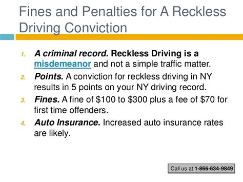 Reckless Driving Criminal Record New York Reckless Driving