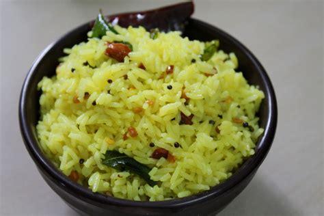 lemon-rice-nimmakaya-pulihora Lemon Rice Recipe South Indian Style