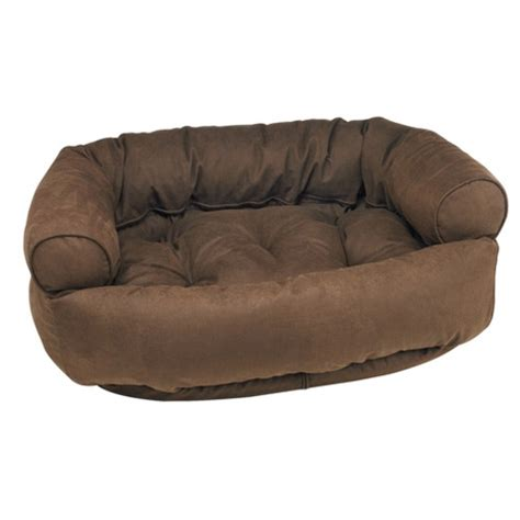dog bed sofa luxury dog bed sofa by bowsers microvelvet cowboy brown