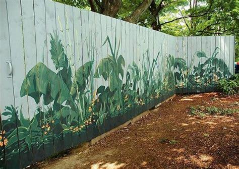 Garden Mural Ideas Best 25 Garden Fence Ideas On Fence Garden Fence Paint And Flower Fence