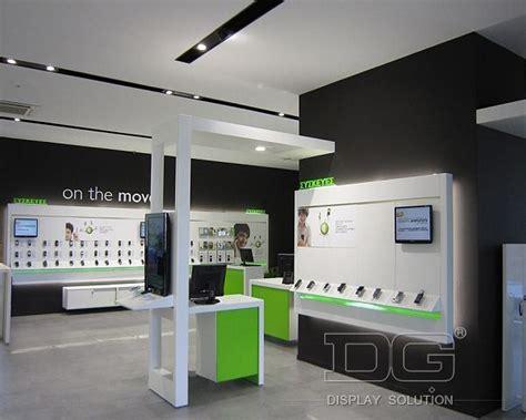 el02 high end mobile store interior design guangzhou