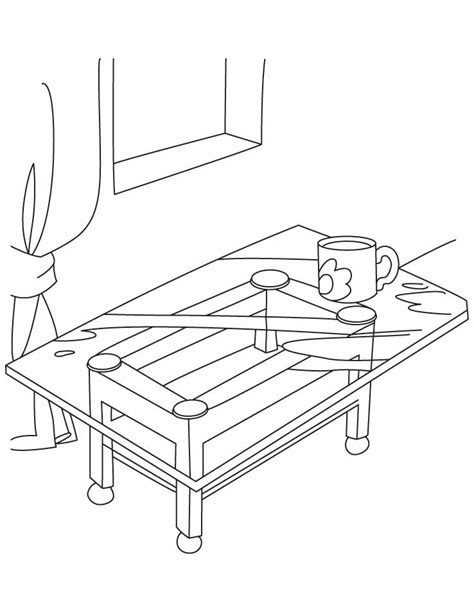table coloring pages table coloring page az coloring pages