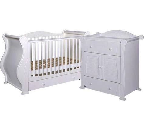 Buy Tutti Bambini Marie 2 Piece Room Set White At Argos Buy Nursery Furniture Sets