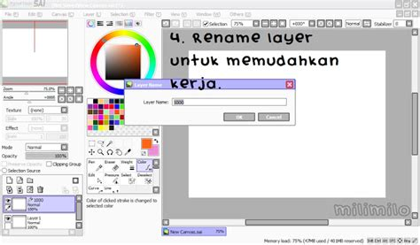 tutorial doodle guna paint tool sai milimilo now everyone can doodle doodle tutorial using