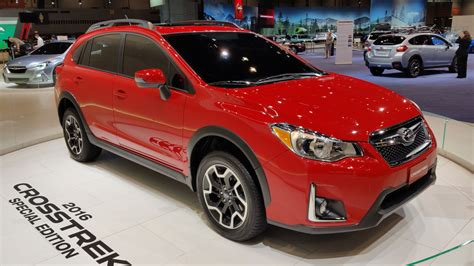 red subaru crosstrek 2016 subaru crosstrek special edition picture 665408
