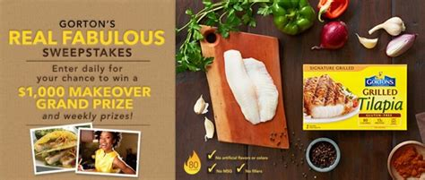 Real Sweepstakes Websites - gorton s real fabulous review giveaway realfabulous gorton s grilled fish a