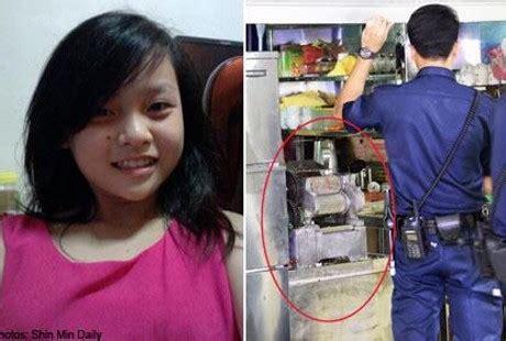 Juicer Tahun tangan masuk ke mesin juicer tebu gadis 14 tahun