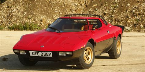 Lancia Stratos Best Aesthetic Mechanical Design In History Page 4