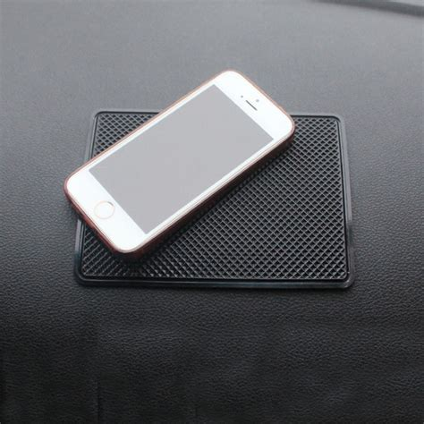 Car Anti Slip Mat Sticky Pad For Phone Gps Mp4 Mp3 Transpara 2016 car interior silicone anti slip dashboard sticky pad non slip mat for phone coin sunglass
