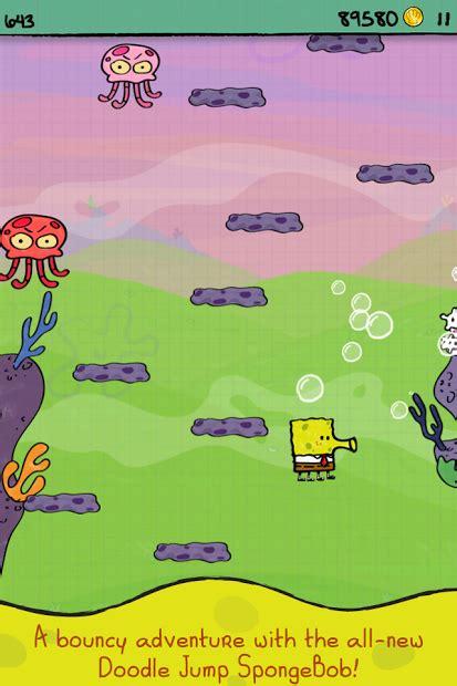 doodle jump new themes apk android apk doodle jump spongebob