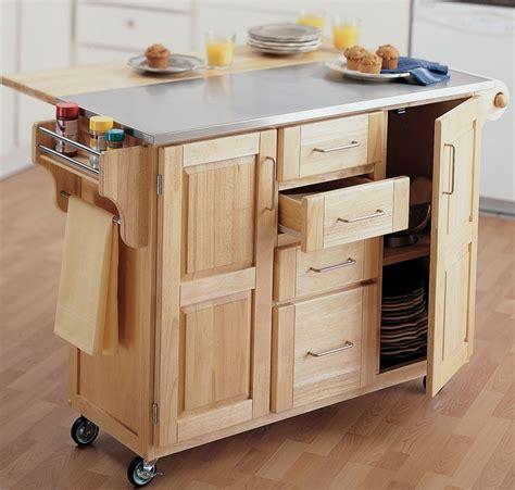 portable kitchen island with drop leaf portable kitchen island with drop leaf bruin