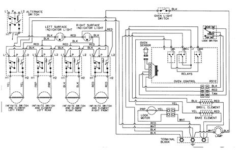 electric stove wiring diagram ideas electrical