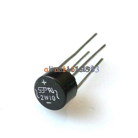 10pcs 2w10 2a bridge diode rectifier new ebay