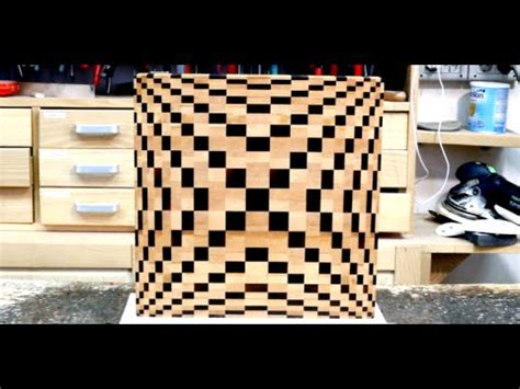 making    grain cutting board  youtube