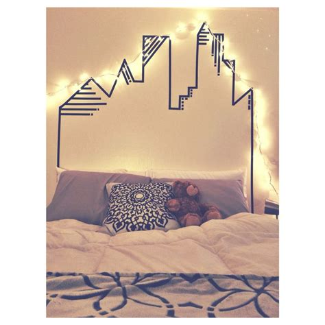 washi tape bedroom best 25 washi tape headboard ideas on pinterest diy
