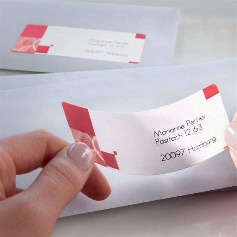 Adressaufkleber Drucken Kostenlos kostenlose vorlagen adressetiketten avery zweckform
