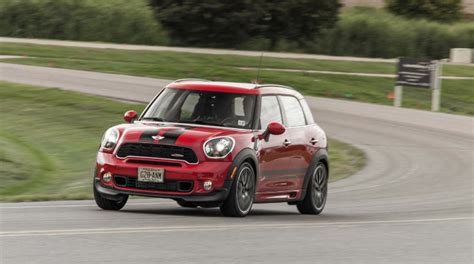 mini cooper countryman car and driver 2013 mini john cooper works countryman all4 review by car