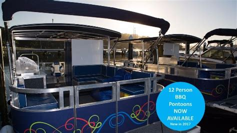 party boat hire central coast pontoon bbq boat perfection review of boat bike