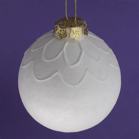 unfinished foam ball ornament christmas ornaments