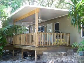 how to build a patio roof pinellas rad deck with a roof