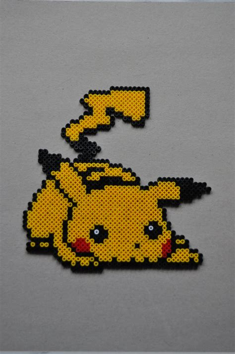 Pikachu Perler By Michiresu On Deviantart