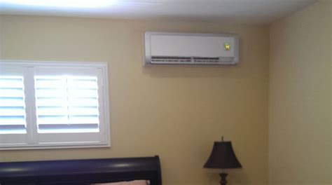 ductless mini split room air conditioning heating san